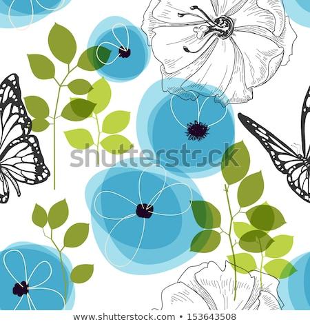 Abstract artistiek meervoudig Blauw Stockfoto © pathakdesigner