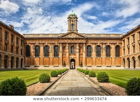 Foto stock: Universidad · oxford · vista · dentro · principal · educación