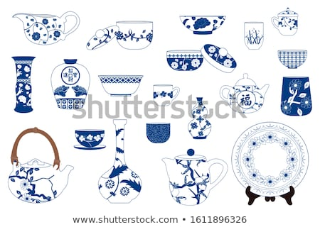 Blanche théière vide propre objet Photo stock © Digifoodstock