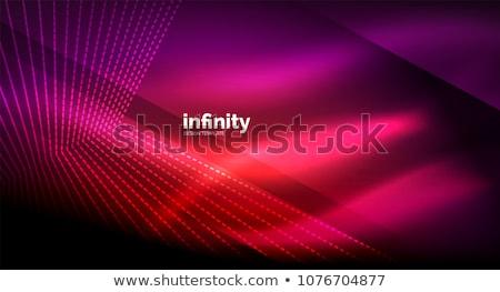 Colorido átomo abstrato luz linhas saúde Foto stock © Tefi