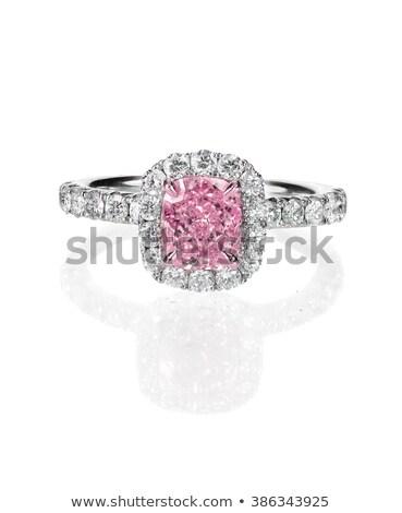 Pink Diamond. Cut it out. Luxurious Accessory Stock photo © robuart