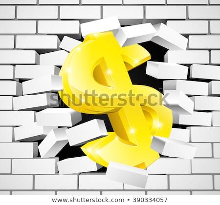 Prime blanche mur de briques doodle icônes autour Photo stock © tashatuvango