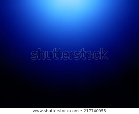 Water molecule. Abstract blue background Stock photo © orensila