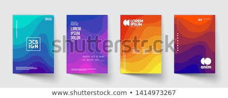moderne · corporate · business · brochure · golvend - stockfoto © SArts