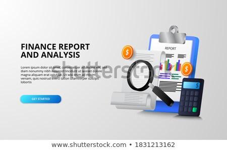growth strategy on clipboard 3d stock photo © tashatuvango