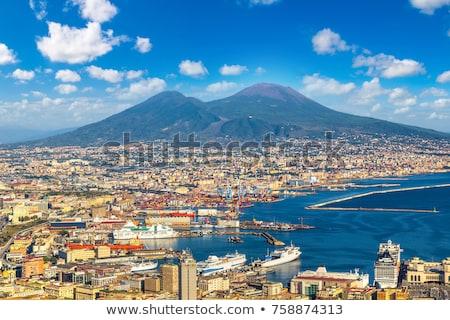 Nápoles · vulcão · Itália · ver · mar · verão - foto stock © neirfy