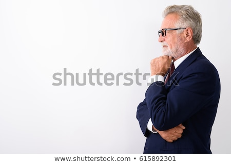 Lado perfil altos hombre gafas Foto stock © IS2