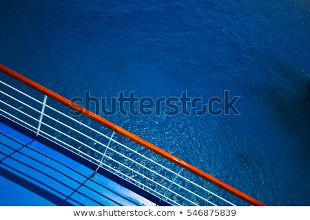 Ship Rail Shadow stock photo © p0temkin