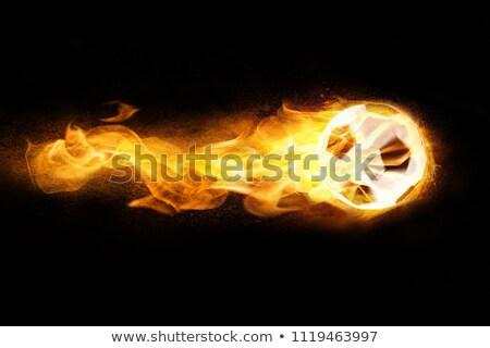 ardor · carnero · negro · espacio · de · la · copia · fuego · tecnología - foto stock © limbi007
