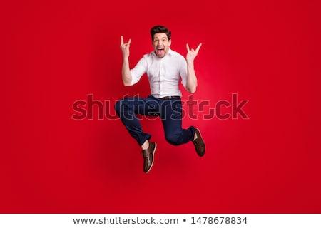 Foto feliz homem formal desgaste Foto stock © deandrobot