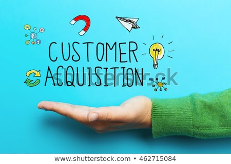 Customer Acquisition and Retention Concept Stock photo © olivier_le_moal