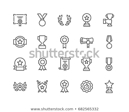 rangsor · vonal · ikon · vektor · izolált · fehér - stock fotó © smoki