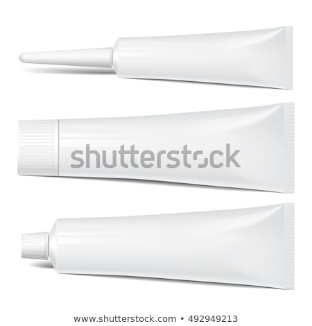 Tube Of Glue Packaging Mockup Template Vector Photo stock © pikepicture