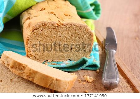 Foto stock: Fresco · forno · sem · glúten · pão · comida