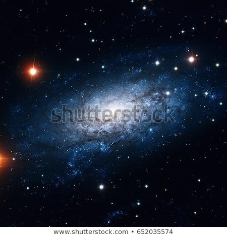 спиральных · галактики · созвездие · далеко · изображение · Элементы - Сток-фото © nasa_images