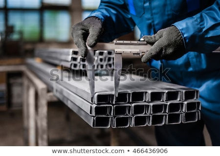 Workers in a metal workshop Stock photo © Kzenon