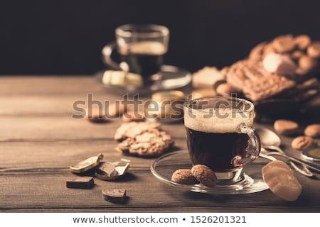 Holland ünnep ünnepi reggeli kávé hagyományos Stock fotó © Melnyk