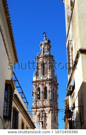 St. John The Baptist Church Bell Tower, Ecija, Spain Stock photo © borisb17