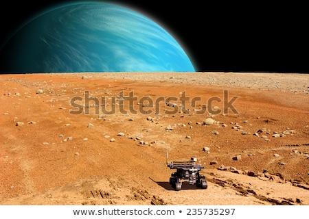 Futuristic mars rover Stock photo © jossdiim
