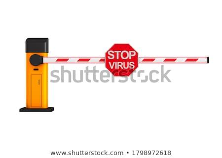 Zamknięte automatyczny biały odizolowany 3D 3d ilustracji Zdjęcia stock © ISerg