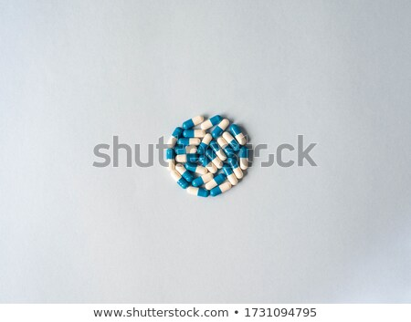 medicine and capsule medical background with text space Stock photo © SArts