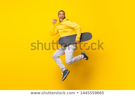 Roller jumping Stock photo © Paha_L
