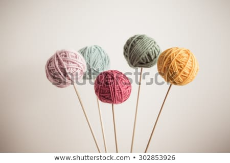 Yarn and sticks Stock photo © leeser