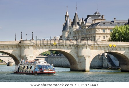 Stock photo: the pont neuf in paris