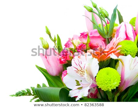 Floral arrangement of Gerber daisies Stock photo © Balefire9