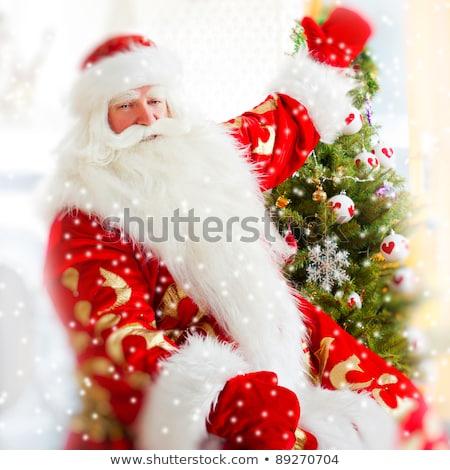 традиционный · рождество · камин · украшенный · Рождества - Сток-фото © hasloo