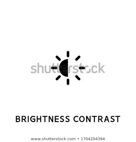 Landelijk sterke licht storm boom schoonheid Stockfoto © kwest