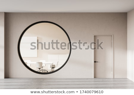 round window in wall Stock photo © clearviewstock