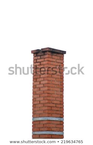 factory brick chimney background Stock photo © sirylok