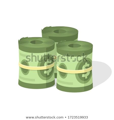 Dinheiro rolar banco projeto de lei Foto stock © tomistajduhar