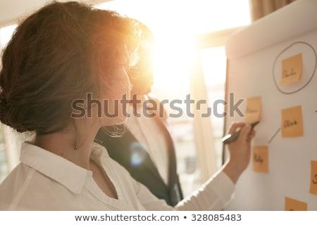 информации · портрет · довольно · прилежный - Сток-фото © photography33