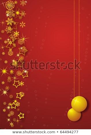 joyeux · Noël · bannière · félicitation · bonhomme · de · neige · tricoté - photo stock © adamson