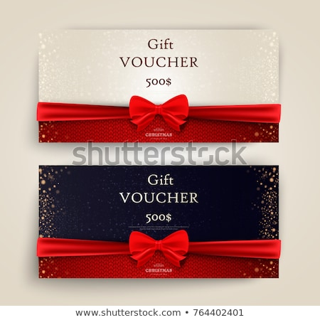 Gift card etykiety tekst jesienią liści jak Zdjęcia stock © marinini