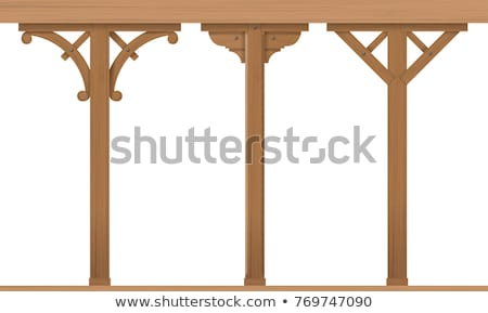 columna · máquina · fabricación · madera · trabajo - foto stock © Alenmax