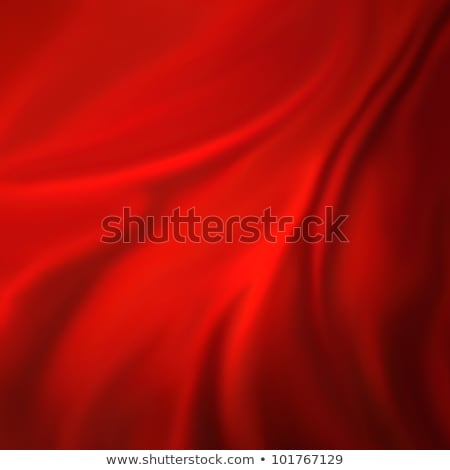 Creased Red Fabric Background Stock photo © THP