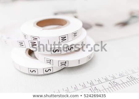 clothing size stamps stock photo © rbiedermann