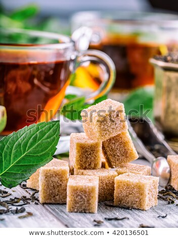 Cubs of sugar Stock photo © perysty