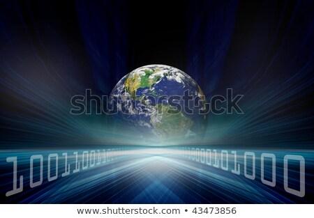 иллюстрированный земле белый изображение искусства Сток-фото © wavebreak_media