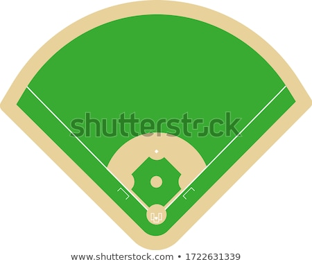 Baseball Field at Home Plate Stock photo © 33ft