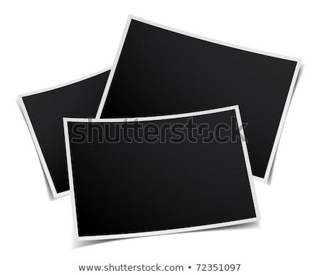 Blank Photo Prints Stock photo © cteconsulting