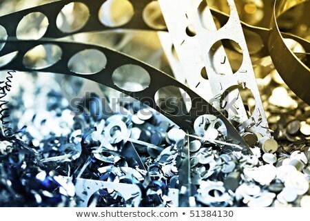 metal · fundo · reciclar · poluição · lixo - foto stock © Bertl123