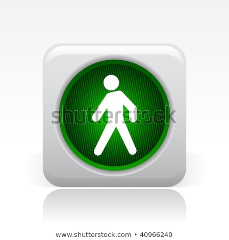 Web Security Traffic Lights Buttons Сток-фото © Myvector