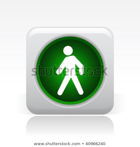 Web güvenlik trafik ışıkları düğmeler parlak Stok fotoğraf © make