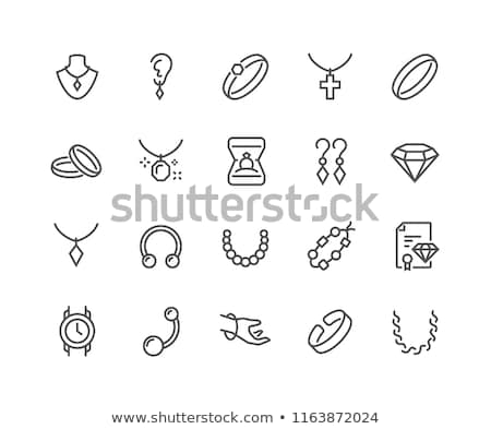 Icon Necklace Stock photo © zzve