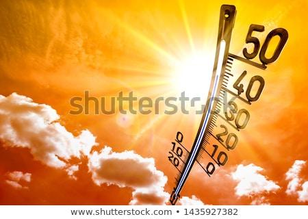 heat wave Stock photo © zkruger