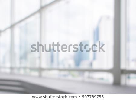 Kantoor Windows stad muur glas Blauw Stockfoto © kawing921